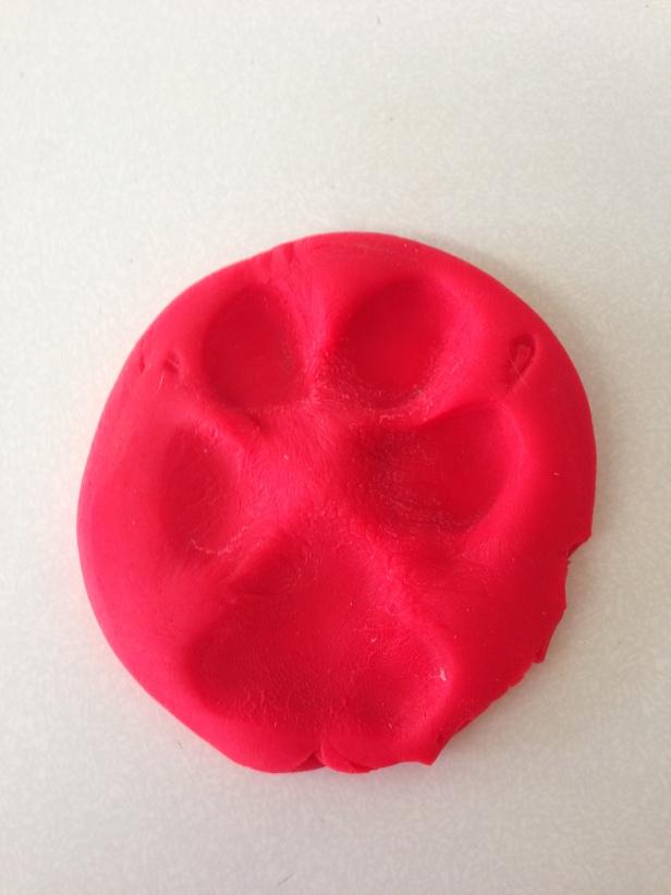 Much better: Choppy's footprint!