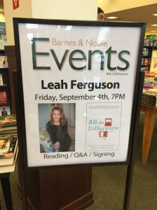 My sister-in-law, Leah, published her book! Actually, that happened last week, but her first book signing was last Friday. Paul and I headed to Pennsylvania for that. You can head to Amazon (or your other preferred book retailer) and order your copy, if you haven't already!