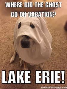 Where did the Ghost go on vacation? Lake Erie!