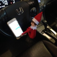 December 4 Elf on the Shelf: Texting and Driving
