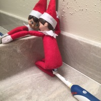 December 11 Elf on the Shelf: 4 of 5 Dentists Do Not Approve