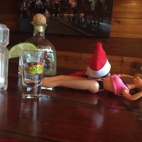 December 12 Elf on the Shelf: Body Shots!