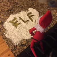 December 18 Elf on the Shelf: Don't Eat the Yellow Snow