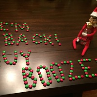 Day 1 - Elf on the Shelf - It Begins