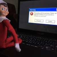 Day 4 - Elf on the Shelf - Step Away from the Computer