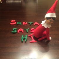Day 6 - Elf on the Shelf - Poop-Doh