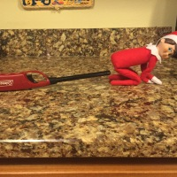 Day 8 - Elf on the Shelf -Lighting Farts on Fire