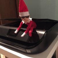 Day 9 - Elf on the Shelf - Butt Copies