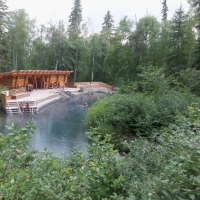 Travel Bits: The Alaska Highway - Liard River Hot Springs