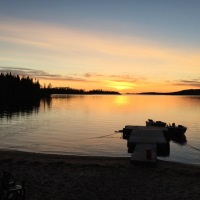 Travels with Choppy: Whiteclay Lake, Ontario