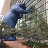On the Road: Big Blue Bear