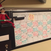 Elf on the Shelf: Calendar 2017