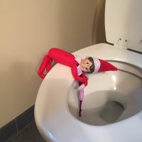 Elf on the Shelf: Maybe Cleaning
