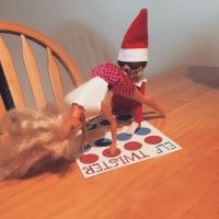 Elf on the Shelf: Twister
