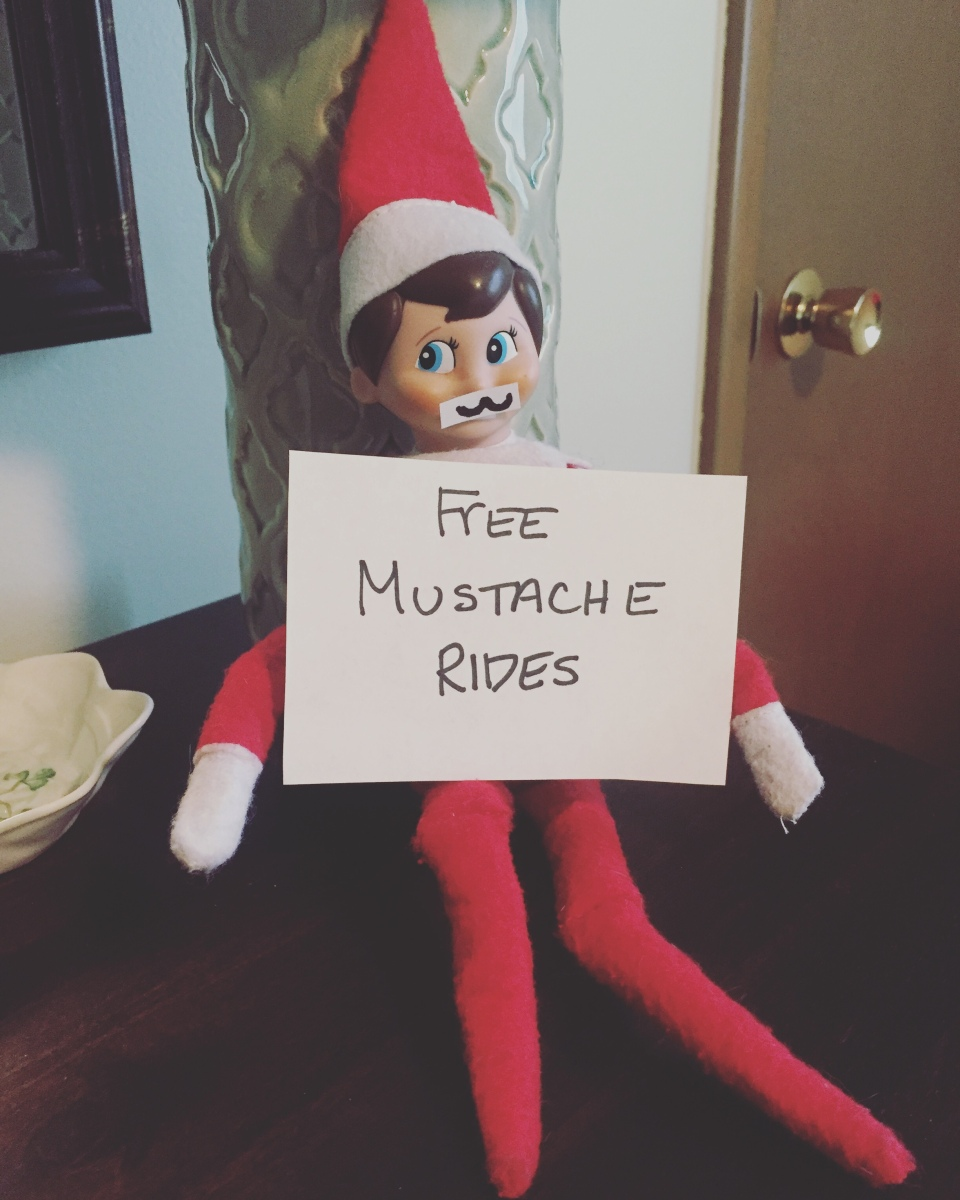 Elf on the Shelf: Inappropriate