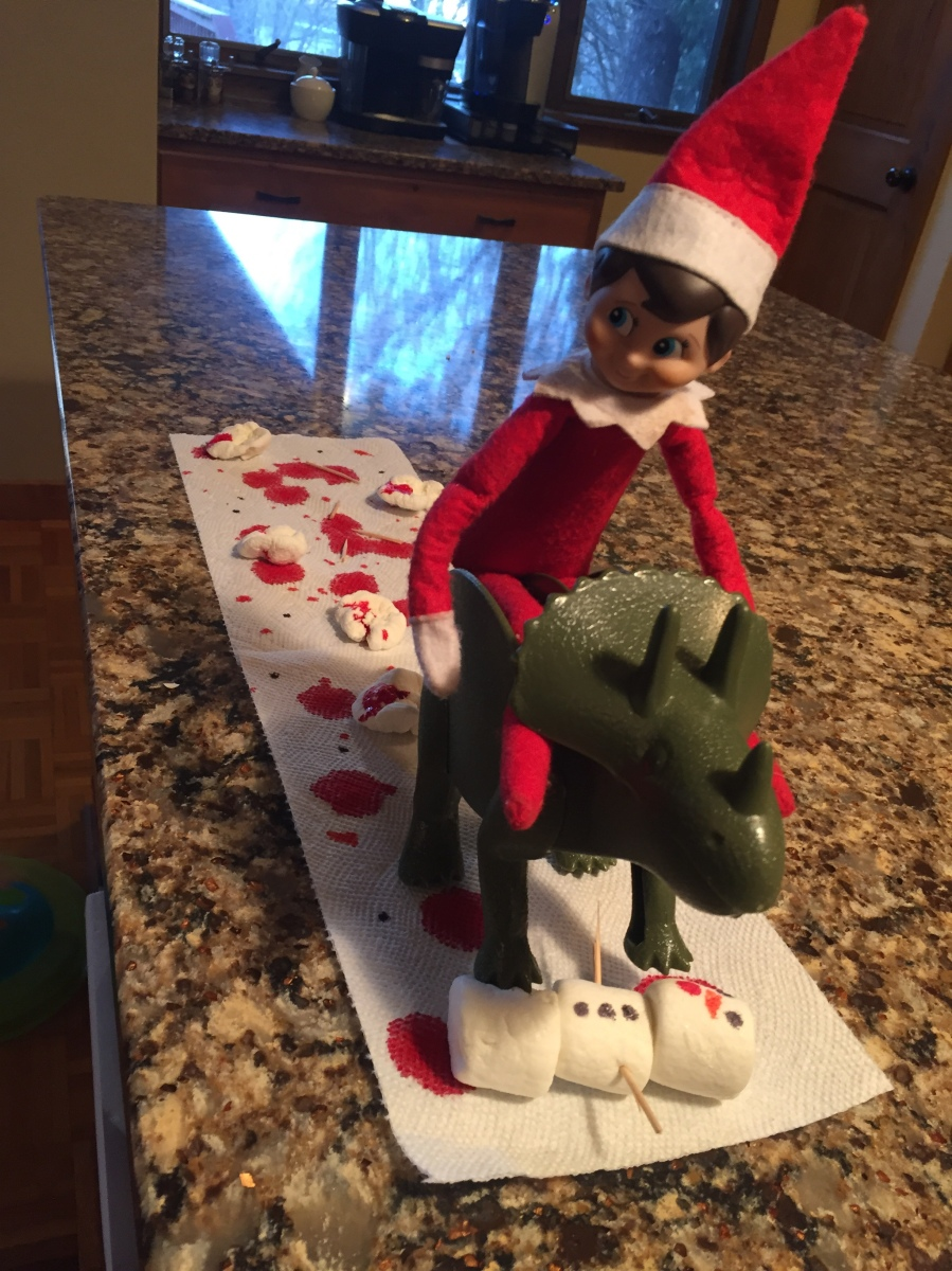 Elf on the Shelf: Dino Doings