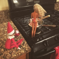 Elf on the Shelf: Cooking Time
