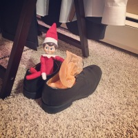 Elf on the Shelf: Watch Where You Step