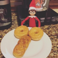 Elf on the Shelf: Doughnut Monday