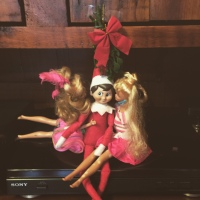Elf on the Shelf: Underneath the Mistletoe