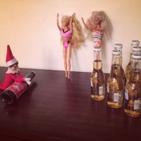 Elf on the Shelf: Bowling Time