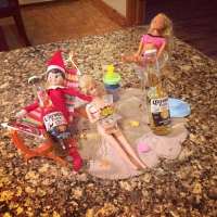 Elf on the Shelf: Beach Party