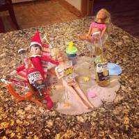 Elf on the Shelf: Beach Party