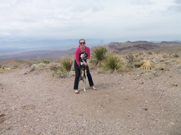 Sarah and Choppy at Big Bend