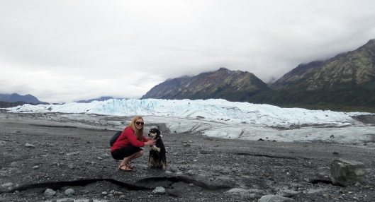 Choppy Sarah and Glacier