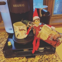 Elf on the Shelf: Morning Bourbon