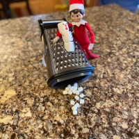 Elf on the Shelf: Making Marshmallows
